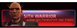 Sith Warrior - Sithský Válečník